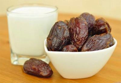 ways to prepare your body  Dates-milk