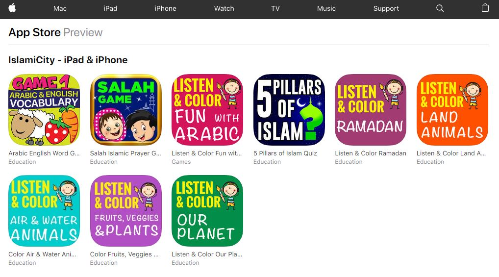 Islamic Apps for Children - IslamiCity